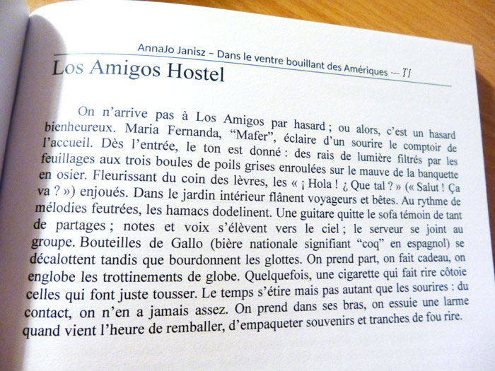 Citation de livre de voyage en Amérique centrale