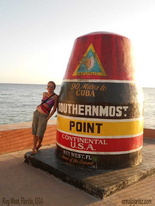 L'écrivain Annajo Janisz à Key West en Floride