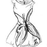 Lecture d'un texte poétique de et par Annajo Janisz, sur sa rencontre avec une robe papillon.
