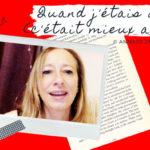 """Illustration du slam poésie engagé de la mindfulness poétesse Annajo Janisz """"Quand j'étais ado"""""""