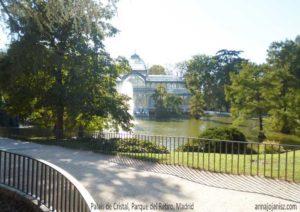 Le Palais de Cristal au Parque del Retiro à Madrid