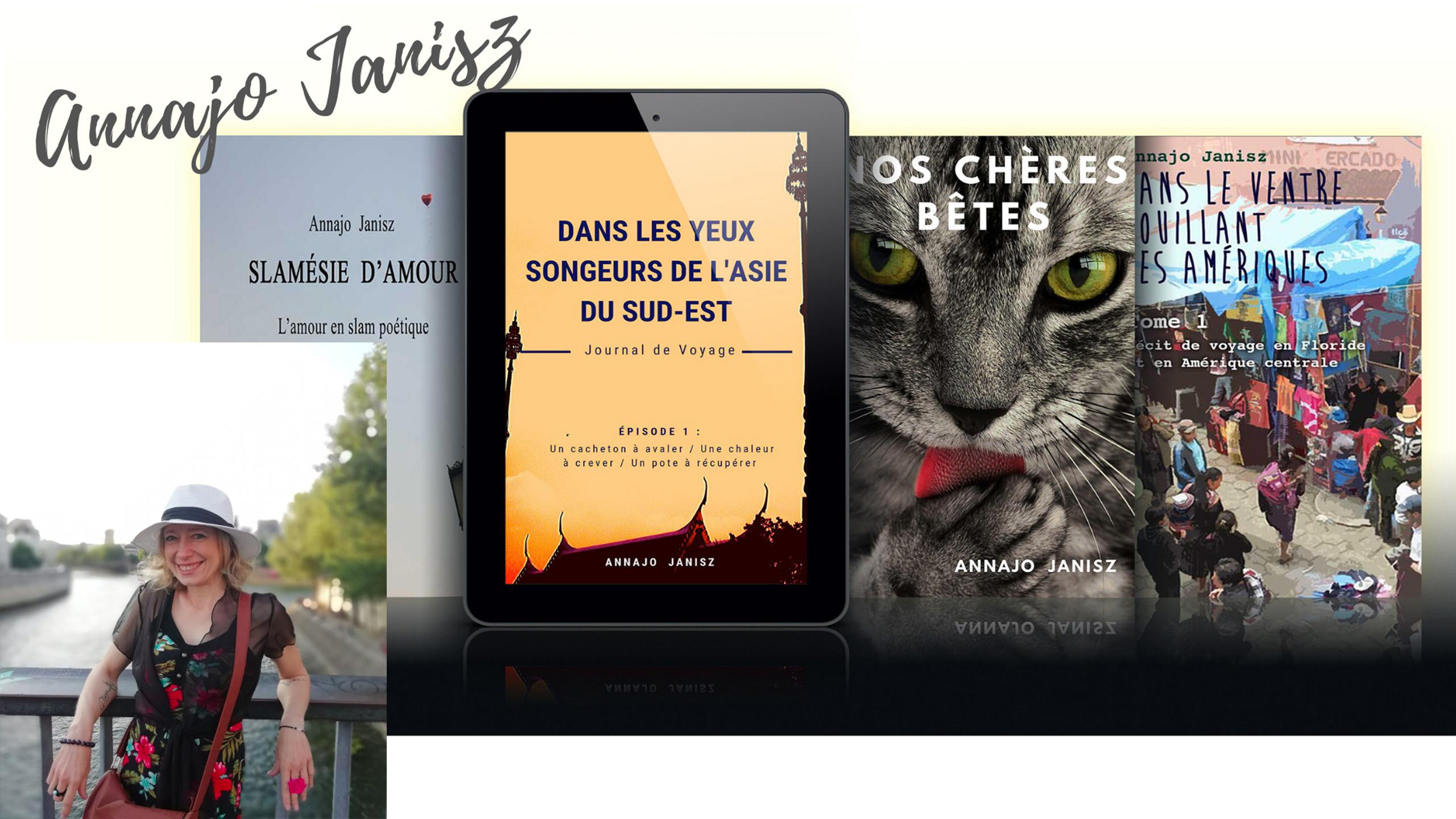 Livres et ebooks de l'écrivaine indépendante contemporaine Annajo Janisz