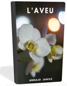 Couverture du Livre Ebook Romance l'Aveu de l'autrice Annajo Janisz