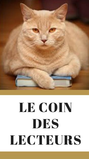 Chat sur un livre dirigeant vers la catégorie chronique littéraire du blog