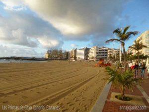Une plage sur les îles Canaries