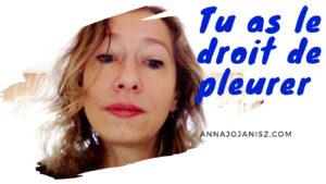 Image illustrant la vidéo d'Annajo Janisz, qui parle d'exprimer toutes ses émotions