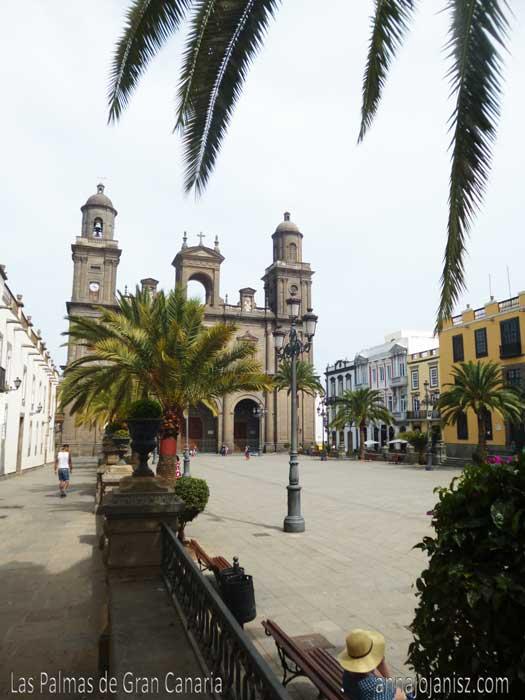 Cathédrale des Canaries lors d'un voyage à Las Palmas de Gran Canaria