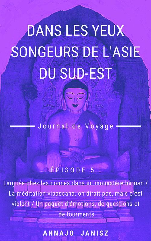 Couverture de l'épisode 5 du récit de voyage asiatique de l'écrivain voyageur Annajo Janisz