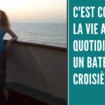 Bannière de l'article-reportage d'Annajo Janisz sur la vie sur un bateau de croisière