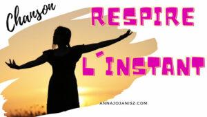 Illustration de la chanson au piano d'Annajo Janisz «Respire l'instant»