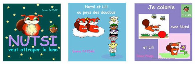 Les livres d'histoires pour enfants d'Emma Paidge