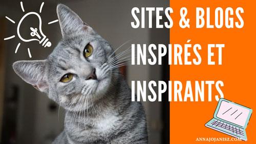 Illustration présentant la page des sites et blogs amis d'Annajo Janisz