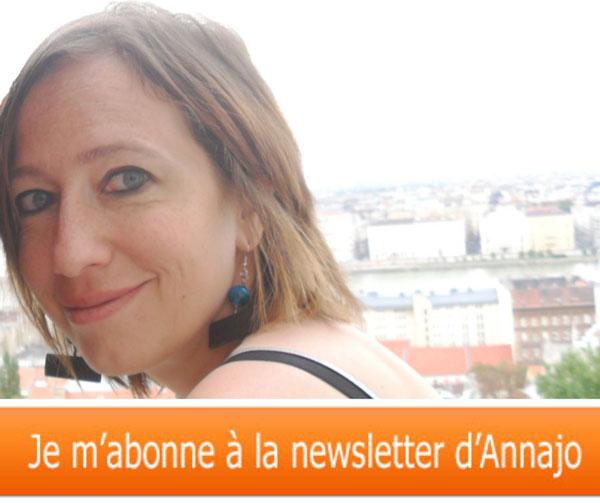 Lien vers l'abonnement à la Newsletter d'Annajo Janisz