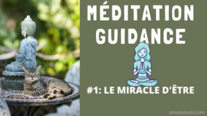 Illustration de la méditation guidance d'Annajo Janisz, le miracle d'être