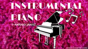 Illustration de la mélodie instrumentale au piano de et par l'écrivaine et musicienne Annajo Janisz