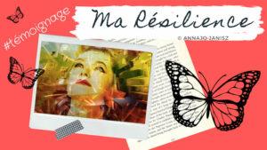 Illustration de la vidéo du récit de résilience de l'écrivaine Annajo Janisz