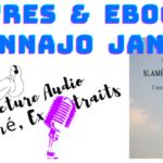 Illustration de l'article avec une vidéo qui propose une lecture de résumé et d'extrait du livre Slamésie d'amour d'Annajo Janisz